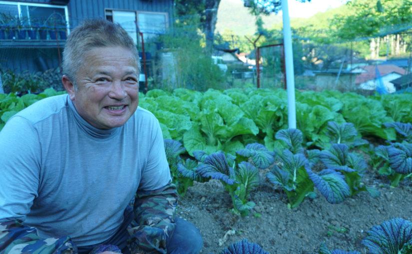 熊野野菜セレクトボックス 生産者の杉山さん
