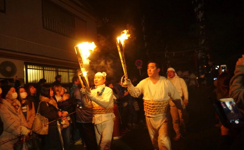 1400年の歴史!奇祭 お燈まつり